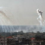 White phosphorus is classified as 'chemical weapon' by the US intelligence. Tel Aviv had previously used white phosphorus during the 2006 war with Lebanon.