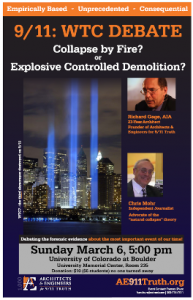 (Audio)  9/11 WTC Debate: Collapse by fire or explosive controlled demolition?
