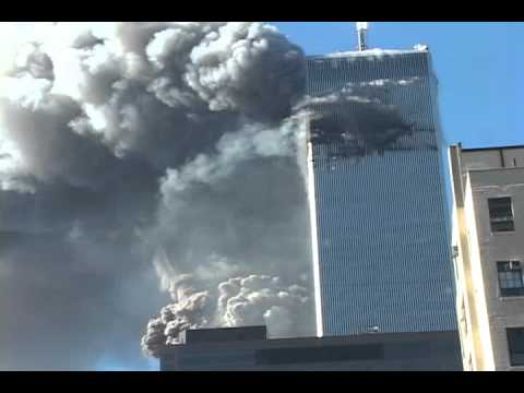 Explosions Visible at South Tower