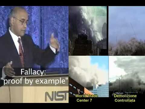 Sunder on What Controlled Demolition Looks Like (see video comments)
