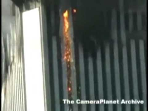 WTC2 South Tower on 9/11 Molten Metal North-East Corner