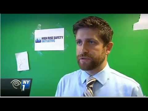 NY1 coverage of the High-Rise Safety Initiative